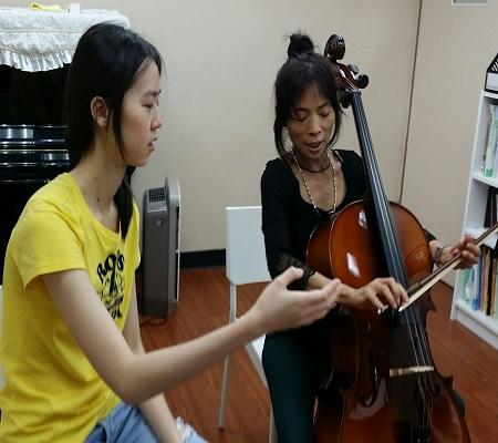 學習大提琴