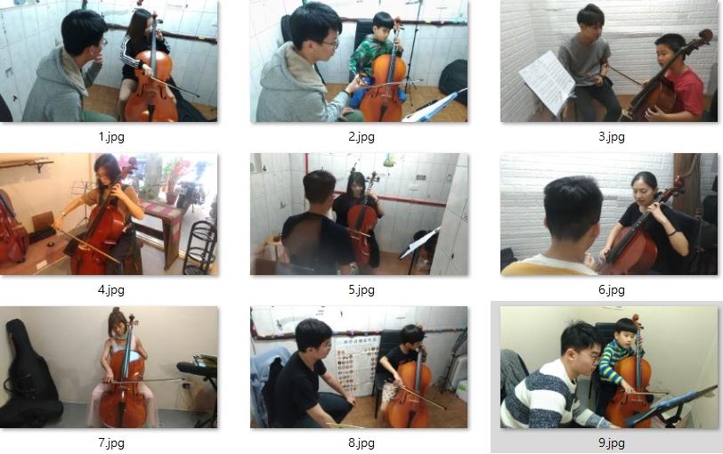 大提琴教學