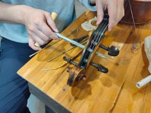 大提琴弦軸